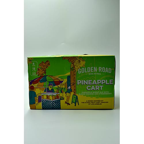 Golden Road Pineapple Cart 6 Pack Cans