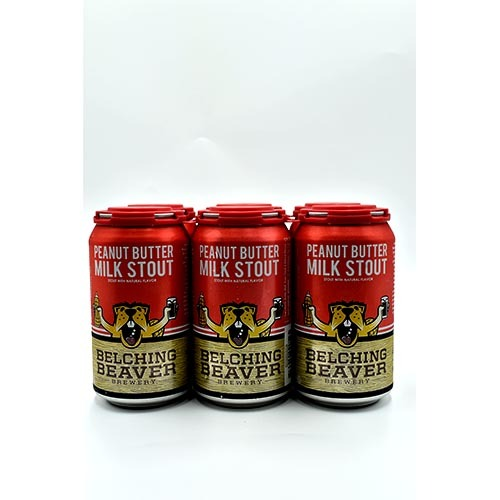 Belching Bever PeanutButter 12 oz6 Pack Cans