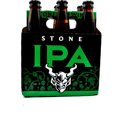 Stone IPA Indian Pale Ale  6 Pack 12 oz