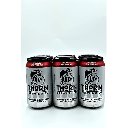 Thorn Brew Thorn Rock  Pale ALe 6 Pack Cans