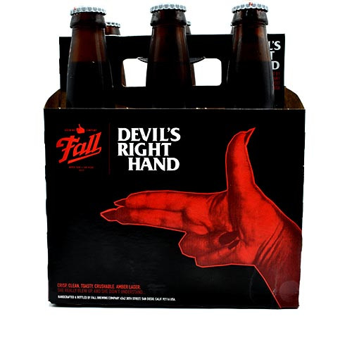 Fall Devils Right Hand 6 Pack