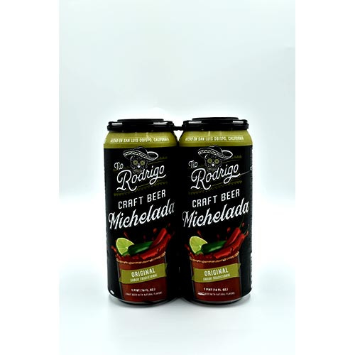 Rodrigo Michelada Orginal 4 Pack
