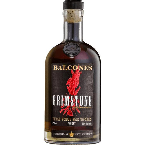 Balcones Brimstone Smoked Whiskey 750ml