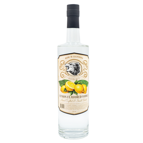 Hideout Vodka Lemon Flavored 750ML