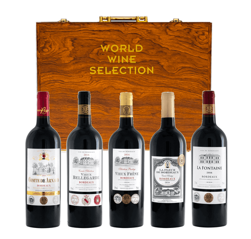 Bordeaux Premium Red Wine Selection with Gift Set (2017)