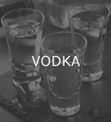 Three vodka glasses