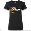 'PEW PEW LIFE - Gold Metallic Print' Premium Unisex T-Shirt