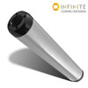 Infinite Cleaning Container - Silver Smooth