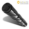 Infinite Cleaning Container - Black Spiral Smooth