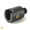 Marlin 80 to 1/2-28 Thread Adapter - Black Steel