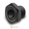 1/2-28 RH to 13/16-16 Thread Adapter - Black (Steel)