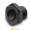 5/8-24 RH to 13/16-16 Thread Adapter - Black (Steel)