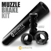 The Ultimate AR-10 Muzzle Device Filter Kit