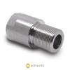 9/16-24 RH to .578-28 RH Thread Adapter - Stainless Steel