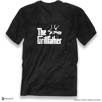 'The Grillfather' Premium Unisex T-Shirt