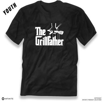 'The Grillfather' Premium Unisex Boys T-Shirt