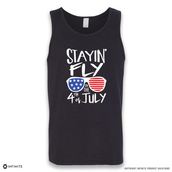 'Stayin' Fly on the 4th of July' Sleeveless Unisex Tank Top