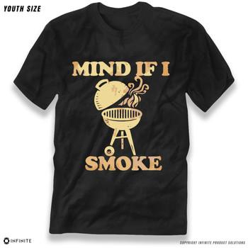 'Mind If I Smoke' Premium Youth T-Shirt