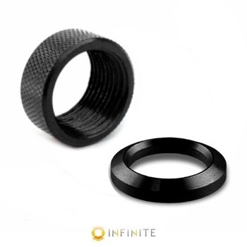 """1/2"""" Crush washer and 13/16-16 Thread protector (Fits Infinite Muzzle Brake)"""