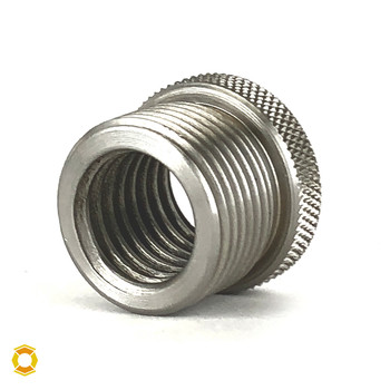 "3/4-10 to 1""-14 Thread Adapter - Stainless Steel"