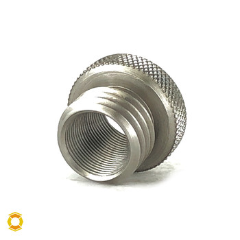.578-28 to 3/4-10 Thread Adapter - Stainless Steel