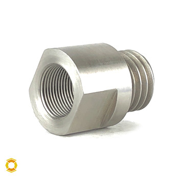 5/8-24 to 3/4-10 Thread Adapter - Stainless Steel
