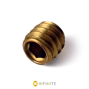 1/4-20 Brass Set Screw Replacement