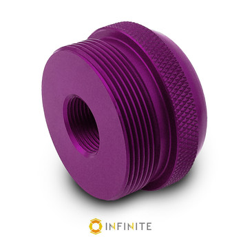 5/8-24 RH to D Cell Maglite Adapter - Purple