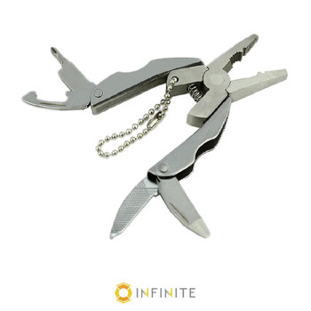 Multi-Tool Plier Keychain with Belt Pouch