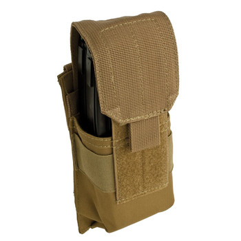 MOLLE Single Rifle Mag Pouch - Coyote