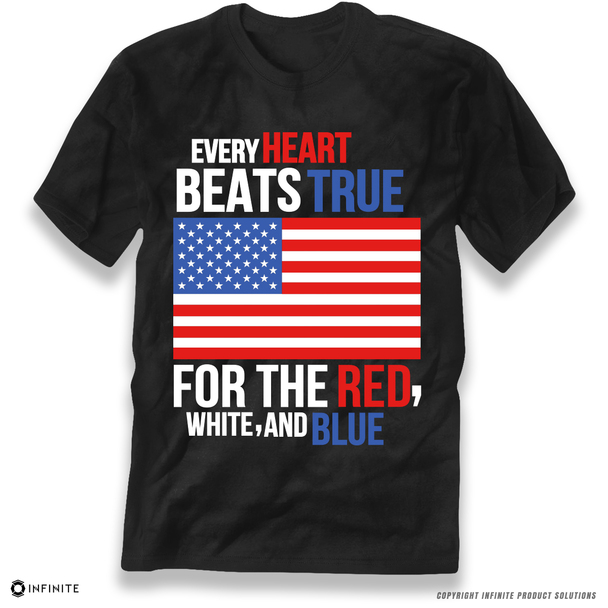 'Every Heart Beats True' Premium Unisex T-Shirt