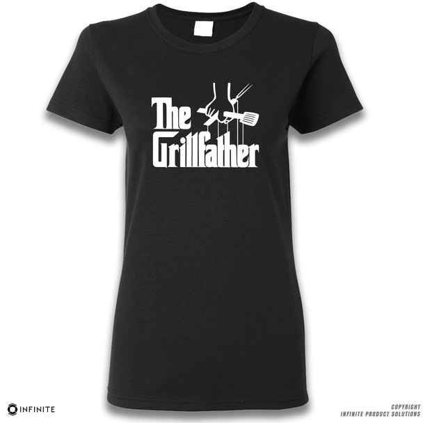 'The Grill Father' Premium Ladies T-Shirt