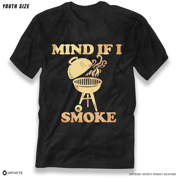 'Mind If I Smoke' Premium Youth T-Shirt
