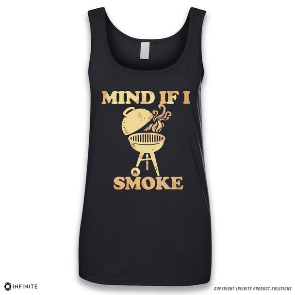 'Mind If I Smoke' Sleeveless Ladies Tank Top