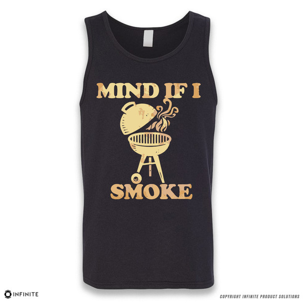 'Mind If I Smoke' Sleeveless Unisex Tank Top