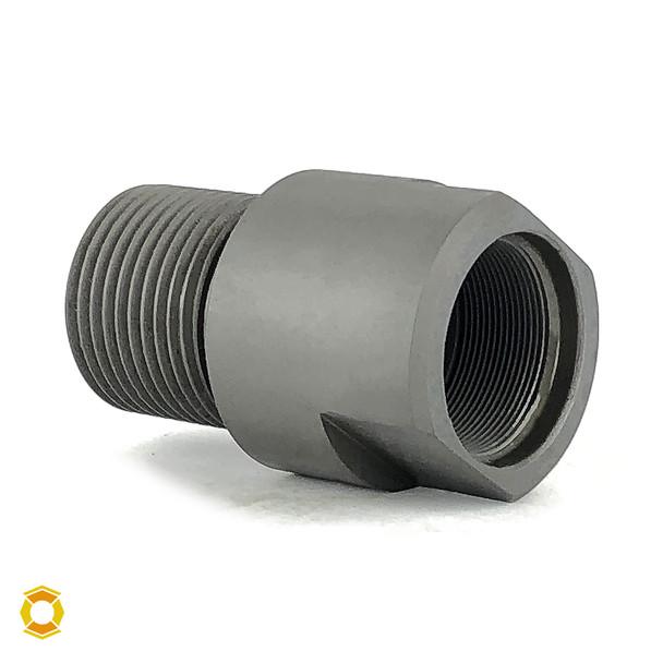 "22mm x .75 RH to 1""-14 Thread Adapter - Black Steel"