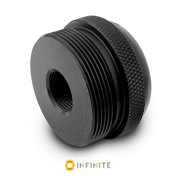 14mm x 1 LH to D Cell Maglite Adapter - Black