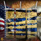 """""""We the People""""  U.S. Constitution and Flag Blue Tumbler (15oz, 20oz, 30oz Options)"""