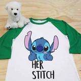 Her Stitch Adult Raglan 3/4 Sleeves