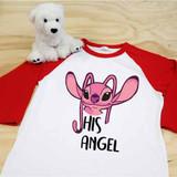 His Angel Adult Raglan 3/4 Sleeves