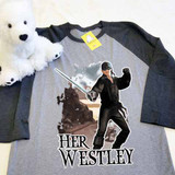 Her Westley Adult Raglan 3/4 Sleeves