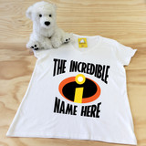The Incredibles Ladies Fitted V-Neck Shirt