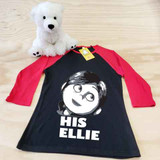 Her Ellie Ladies Slim Fitted Raglan 3/4 Sleeve