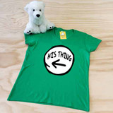 His Thing Ladies Fitted V-Neck Shirt