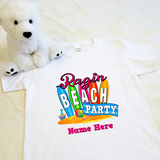 Rage Dance Ragin Beach Party T-shirt