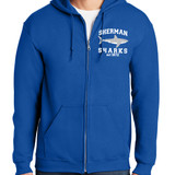 """""""SS 1872"""" full zip hooded sweatshirt - adult and youth sizes"""