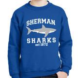 """SS 1872"" crewneck sweatshirt - adult and youth sizes"