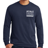 Giant Steps - Adult Long Sleeve Tee Shirt