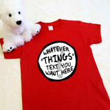 Customizable Thing 1 Thing 2 Inspired Short Sleeve T-shirt in All sizes