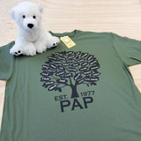 Custom Family Tree Shirt - Military Green - Grandpa - Pap